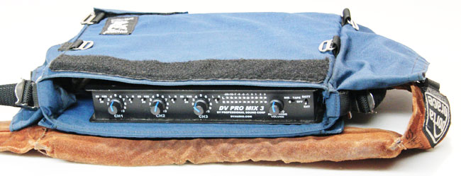 PSC DV Pro Mix 3 stereo portable audio mixer