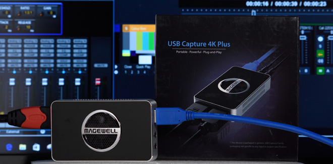 Magewell 32090 USB Capture HDMI 4K Plus