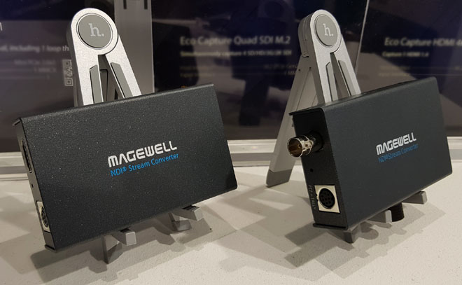 Magewell Pro Convert TX models on show at ISE2019 (picture ©ZEN)