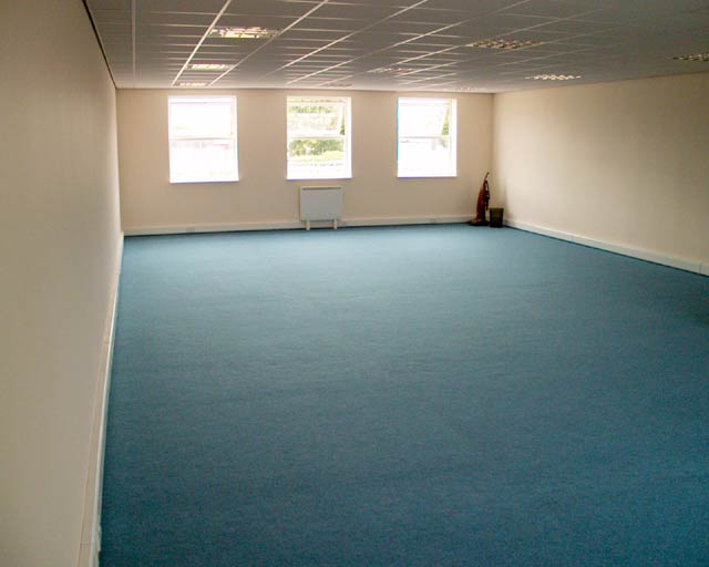 1050 sqft 1st Floor Office space at Quays Reach, Salford (looking from front to back)