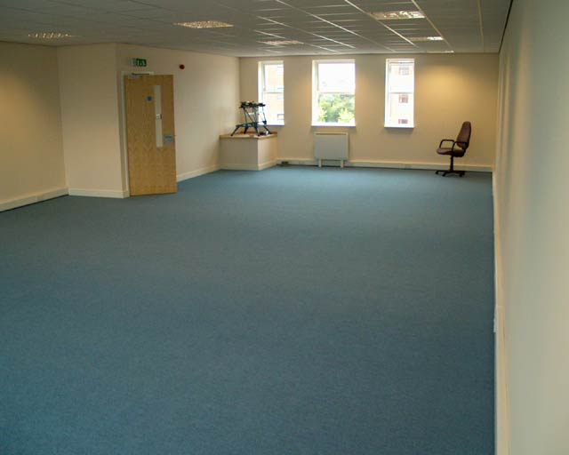 1050 sqft 1st Floor Office space at Quays Reach, Salford (looking from back to front)